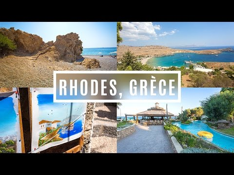 Travel Diary : Rhodes, Grèce