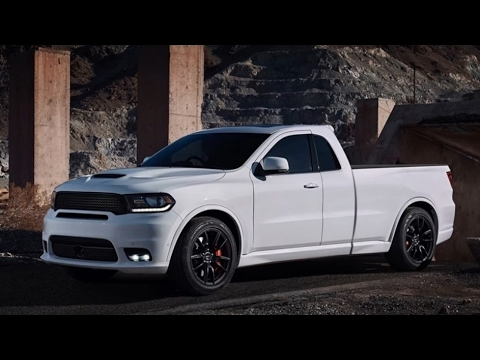 New DODGE Durango SRT PICKUP - YouTube