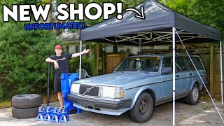homepage tile video photo for Building Myself a NEW SHOP! It SUCKS!