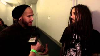 Korn's Head and Ray talk with Tommy Vext about SFG12