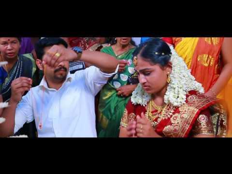 KERALA WEDDING  -MUKESH + RESHMA WEDDING HILIGHT BY ADITHYA  MOVIES KIZHAKKUMBKAGUM 9745854361