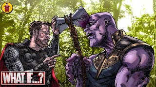 What If Thor Had Gone For The Head In Infinity War?