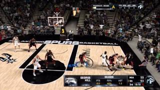 NBA 2K11 My Player Playoffs - NFG6 - LeBron Scores 5 Points