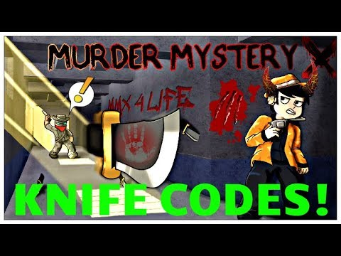 Roblox Murder Mystery 20 Sea Knife Code How To Get Free Robux On