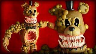 - TWISTED FREDDY FNAF The Twisted Ones Cold Porcelain Polymer Clay Tutorial