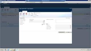 Dynamics AX 2012 Einreichen und genehmigen von Arbeitszeittabellen