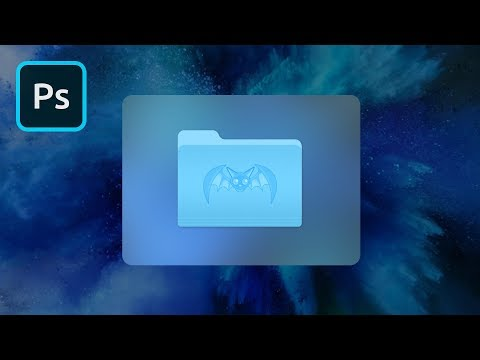 Custom Mac Icons In Photoshop | 2 Minute Tutorial