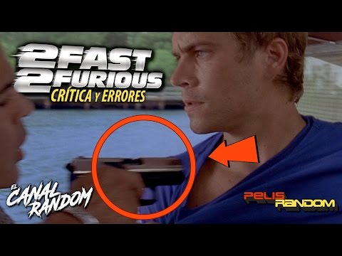 Movie Mistakes 2 Fast 2 Furious - Fast and Furious 2 (Spanish Audio)