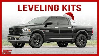 This Christmas, Get The Look They Really Want With A Rough Country Leveling Kit