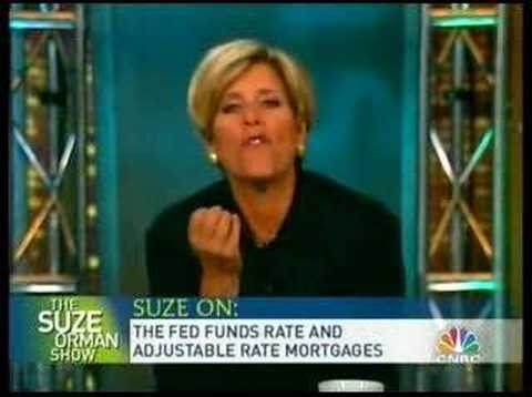Suze Orman on Fed Funds Rate