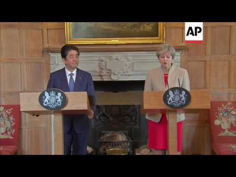 May: Japan and UK will strengthen trade ties