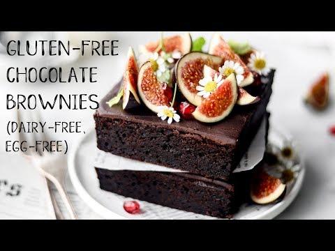 Gluten-free Chocolate Brownies (dairy-free, Egg-free, Gluten-free, Nut-free)
