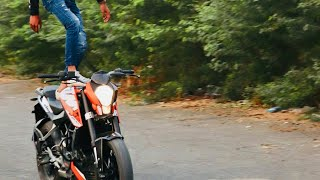 KTM Duke Stunt Whatsapp Status Lovers Video (Bikers Lover Point)