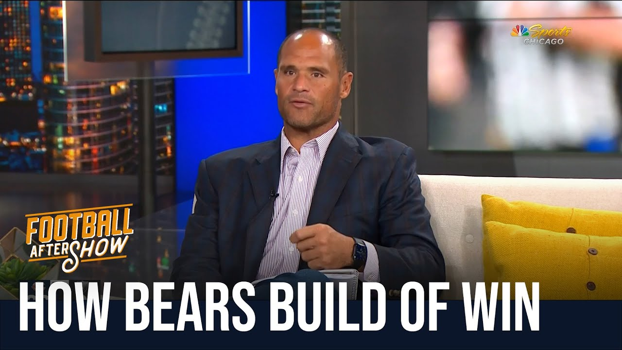 How Bears can build off win over Raiders   Football Aftershow   NBC Sports Chicago