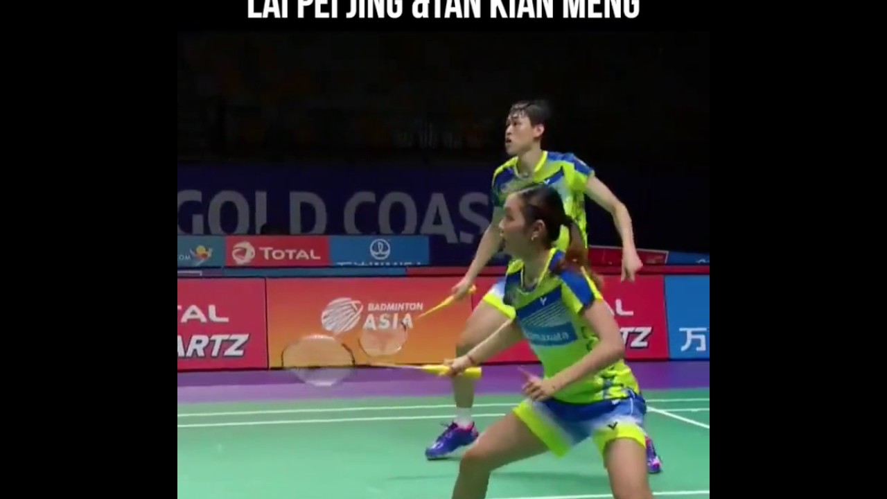 Best racket exchange ever Lai Pei Jing & Tan Kian Meng