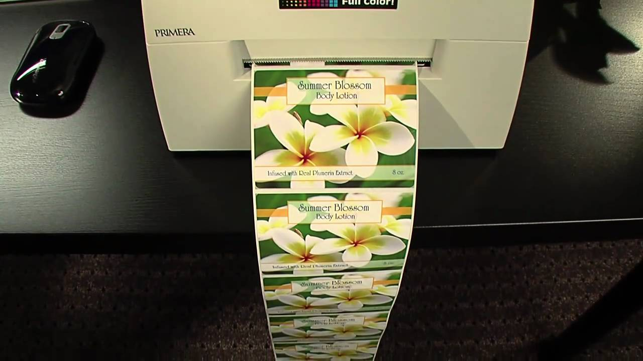 Print Short Run Labels With LX400 Color Label Printer