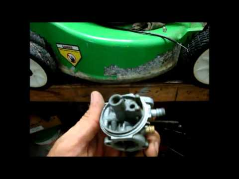 Carburetor Cleaning – How to – Lawn Mower Engine