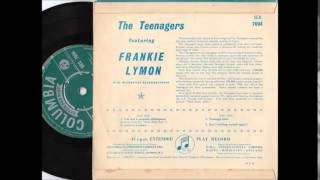 The Teenagers  Featuring Frankie Lymon Love Is A Clown COLUMBIA EP SEG 7694
