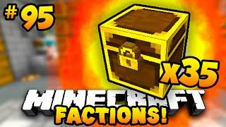 Minecraft FACTIONS #95 'OPENING 35 LEGENDARY CHESTS!' w/PrestonPlayz