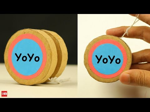 How To Make YoYo From Cardboard at Home