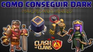 COMO FARMAR ELIXIR NEGRO MUITO RÁPIDO - Clash of Clans