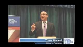 Trevor Manuel, Minister in the Presidency talks on the National Plan