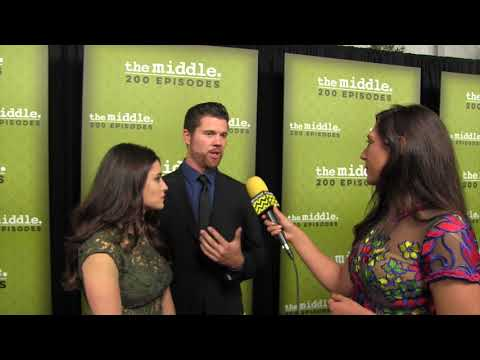The Middle 200TH Episode Party ABTV Interview with Daniela Bobadilla & Beau Wirick