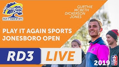 DGPT: Play It Again Sports Jonesboro Open presented by Prodiscus - MPO - Round Three