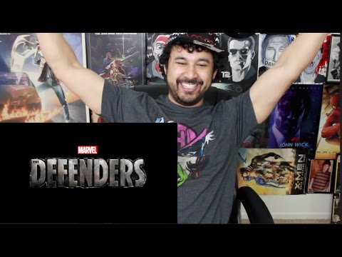 Marvel's THE DEFENDERS| Official TRAILER REACTION & REVIEW!!!