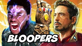 Black Panther Bloopers and Infinity War Ending Aftermath Explained