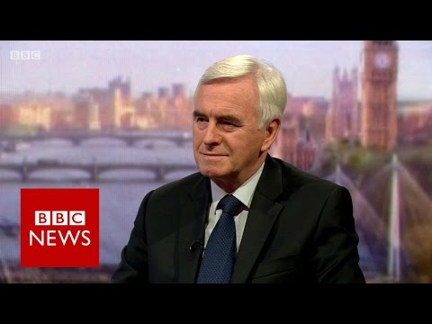 John McDonnell: 'We've got to stop this now' - BBC News