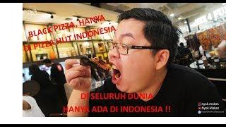 HANYA DI INDONESIA, Black Pizza dari PIZZA HUT!!!