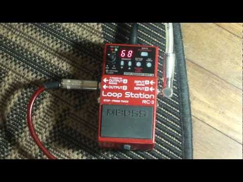 Boss RC-3 Loop Station Demo & Jam – Matt Stottmann – Electric Guitar