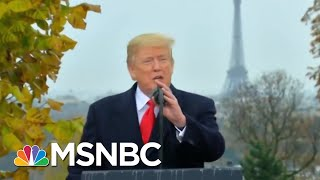 France On President Trump Attacks: Common Decency Would've Been Appropriate | The 11th Hour | MSNBC