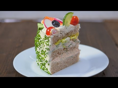 OUTRAGEOUS Sandwich Cake Recipe
