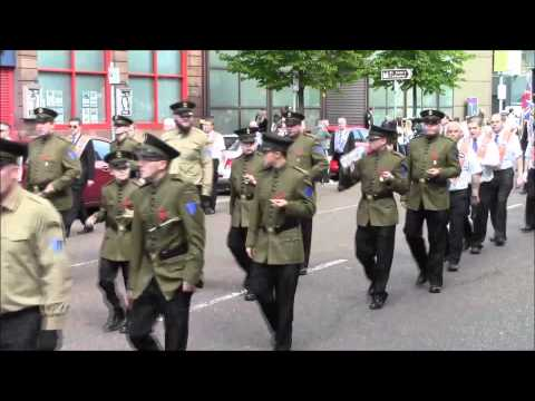 36th Ulster Division Mem Association Parade Belfast 9/5/2015 (Part5)