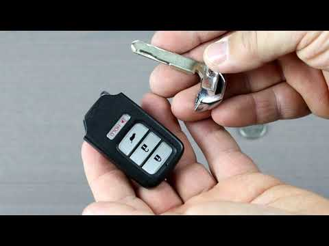 Honda Smart Wireless Remote Key Fob Battery Replacement for CRV, Odyssey, Pilot, Accord, Civic
