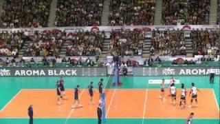 2011 男子バレーボール ワールドカップ 日本VSイタリア