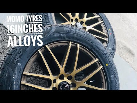 Installed 16 inches alloy wheels in swift | swift modified | projector  headlamps | MOMO alloys