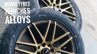Swift alloy wheels modified | 16