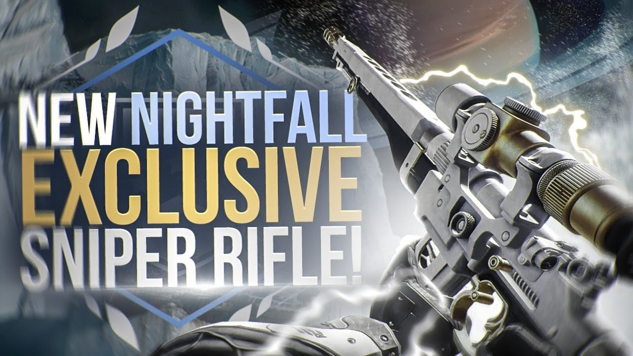 NEW NIGHTFALL EXCLUSIVE SNIPER! Destiny 2: The Long Goodbye Review!