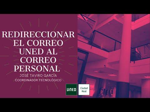 REENVIAR CORREO UNED AL CORREO PERSONAL (José Taviro)