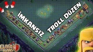 EN ZOR TROLL DÜZEN !!! - Clash Of Clans