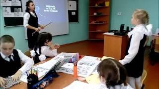 Сафиуллова Гульназ урок по английскому языку во втором классе  на тему Знакомство часть 3