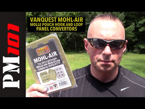 Vanquest MOHL-AIR: MOLLE to Hook-and-Loop Adaptors - Preparedmind101