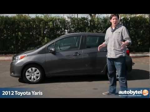 2012 Toyota Yaris Test Drive & Car Review