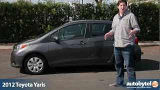 Toyota Yaris 2012 Videos
