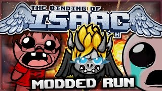 The Binding of Isaac: Rebirth - Modded Run: What Lies Beneath! (Godmode)