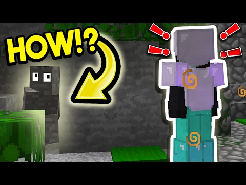 HOW DID THEY NOT SEE US!? (Minecraft Trolling)