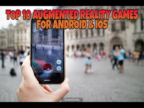 TOP 10 GAMES LIKE POKEMON GO (AUGMENTED REALITY) FOR ANDROID & IOS (2017-2018) ✓